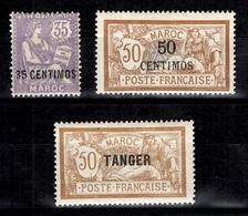 Maroc Maury N° 18, N° 27 Et N° 90 Neufs *. B/TB. A Saisir! - Maroc (1891-1956)