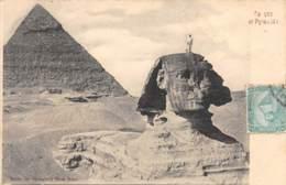 EGYPTE  SPHYNX ET PYRAMIDES - Sphinx
