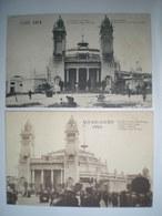 Congo Kongo  - World Expo Exposition Universelle - Gand Gent 1913 Anvers Antwerpen 1930 (4 Cartes) - Congo Belga - Altri