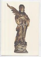 Honfleur : église Sainte Catherine - Statue De Saint Catherine (cp Vierge) - Honfleur