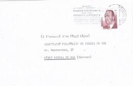 30477. Carta VILADECANS (Barcelona) 2002. Federico Garcia LORCA - 1931-Hoy: 2ª República - ... Juan Carlos I