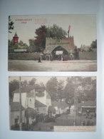 Sénégal  - World Expo Exposition Universelle - Gand Gent 1913 Bruxelles 1910 (2 Cartes) - Senegal
