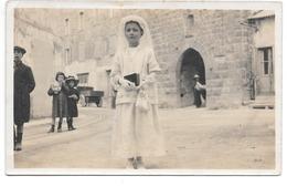 Vence . - Carte Photo . - Communiante . - 1915 - Vence