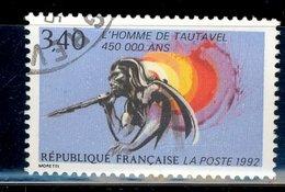 France 1992 - Oblitéré Used - Y&T N° 2159 - L'Homme De Tautavel - Frankreich