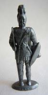 FIGURINE PUBLICITAIRE MOKAREX - COSTUMES MILITAIRES - FRANC - Figurines