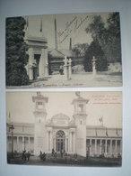 République Centrafricaine - World Expo Exposition Universelle - Liège 1905 Bruxelles 1910 (4 Cartes) - Repubblica Centroafricana