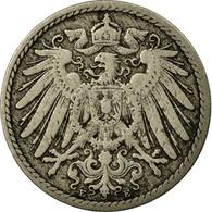 Monnaie, GERMANY - EMPIRE, Wilhelm II, 5 Pfennig, 1890, Muldenhütten, TB - [ 2] 1871-1918: Deutsches Kaiserreich