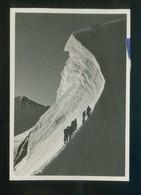 *Bernina - Crast'alva. Engadin* Ed. Suiza. Circulada St. Moritz 1947. - Alpinisme