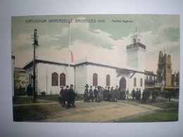 Algérie - World Expo Exposition Universelle  Bruxelles 1910 - Algeria