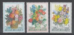SERIE NEUVE DE BELGIQUE - FLORALIES GANTOISES : BOUQUETS N° Y&T 1965 A 1967 - Plants