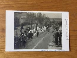 Pont-à-Celles  CARTE PHOTO De La Jeune Garde Socialiste  Photo E Detienne Couillet - Pont-à-Celles