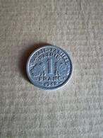 Pièce 1 Franc Alu. 1942 - France