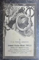 VILVOORDE -  à La Pieuse Mémoire De Armand POELS - Soldat 9 ème Régiment - Mort à Duffel - Décès