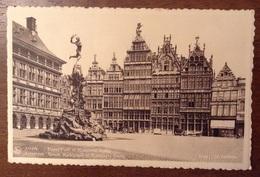 Anvers Grand Place Et Monument Brabo - Antwerpen