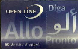 Paco \ FRANCIA \ Remote Memory \ Open Line \ PRE-FR-OL14B \ 60u Allo Diga Pronto/ 3696 Dessus 2 Lignes \ Usata - Frankrijk