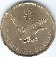 Canada - Elizabeth II - 2006 - 1 Dollar - Winter Olympic Lucky Loonie - KM630 - Canada