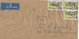 Nigeria 2018 Owerri Sclater's Guenon Cercopithecus Sclateri Monkey Ape N50 Hologram Cover - Nigeria (1961-...)