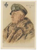 Wehrmacht Heer  - Ritterkreuzträger Hans Von Rochow   - Dessin De Willrich - Personnages