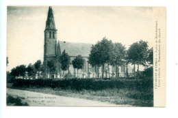 Environs D'Ypres - Eglise De Noordschoote - Ypres Suburbs - Noordschoote The Church / Visé Paris N° 20611-3 - Lo-Reninge