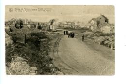 Ruines De Pervyse - The Ruins Of Pervyse - 1914-18 - Route De Furnes - Road Of Furnes / Revyn (S.M. 1919) - Diksmuide