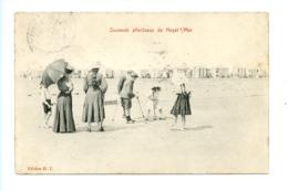 Souvenir Affectueux De Heyst Sur Mer / Edition H.T. (1911) Marcovici - Heist