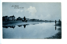 La Panne - La Plage Le Soir / Edit. Ruyssen (1912) - De Panne