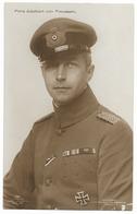 Prince Adalbert Von Prussen En Feldgrau  - WWI - Personnages