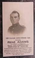GRIMBERGEN - 7 Belgisch Leger - Ter Dood Veroordeeld Te BOCHUM Voor Spionneering - WW2 - Pieuse Mémoire - Décès