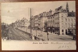 Anvers Quai Plantin 1904 - Antwerpen