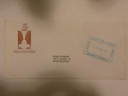 """Busta Viaggiata """"ASSOCIAZIONE TEATRALE CAMPANIA GRANDI CLASSICI"""" Salerno Poste Private 2001 - 6. 1946-.. Repubblica"""