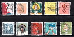 Nederland 2017 Nvph 3588 - 3597, Mi Nr 3659 - 3668, Decemberzegels, Kerstzegels, Christmas, - Periode 2013-... (Willem-Alexander)
