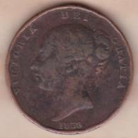 Grande-Bretagne . 1 Penny 1858. Victoria - 1816-1901 : 19th C. Minting