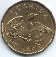 Canada - Elizabeth II - 2008 - 1 Dollar - Olympic Lucky Loonie - KM787 - Canada