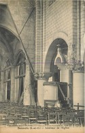 SANNOIS-intérieur De L'église - Sannois