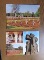 2 Kaarten Van Lommel, Deutscher Soldatenfriedhof --> Onbeschreven - Lommel