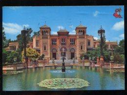 CPM Espagne SEVILLA Plaza De America Pabellon Mudejar - Sevilla