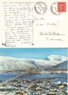 NORVEGE : 1973 -  Carte Postale Pour La France - Norvège