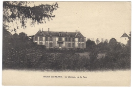 51 Mairy Sur Marne Le Chateau Vu Du Parc - France