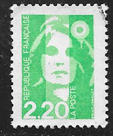 FRANCE 2790 Marianne Du Bicentenaire 2.20 Vert Clair . - France
