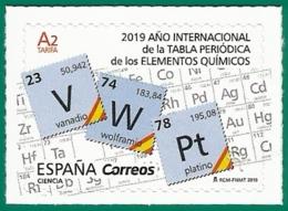 España. Spain. 2019. Año Internacional De La Tabla Periódica De Los Elementos Químicos - 1931-Hoy: 2ª República - ... Juan Carlos I