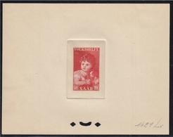 Sarre 323 Titien Epreuve D'artiste, Epreuve D'atelier. Saar 1953 Artist Die Proof Titian, Art, Paintings, Renaissance - Sonstige - Europa