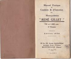 Au Plus Rapide Manuel Conduite Entretien Moto Ancienne René Gillet édition 1938 * - Motos