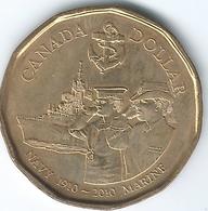 Canada - Elizabeth II - 2010 - 1 Dollar - Royal Canadian Navy Centenary - KM1017 - Canada
