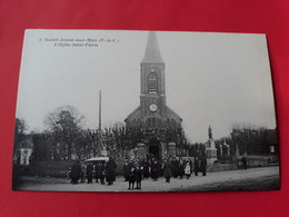 CPA 62  SAINT-JOSSE-SUR-MER N° 1 L' Eglise Saint-Pierre  Coll. Bibloque ( Environs ETAPLES ) - Autres Communes