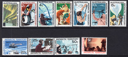 1966/68 - AUSTRALIAN ANTARTIC TERRITORY -  Yi.  8/18 - NH - (REG2875.. 25) - Territorio Antartico Australiano (AAT)
