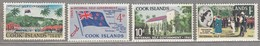 Cook Islands 1965 MNH(**) Mi 105-108 #24043 - Cook