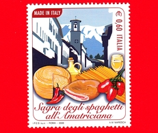 Nuovo - MNH - ITALIA - 2008 - Made In Italy - Spaghetti All'amatriciana - 0,60 - 6. 1946-.. Republik