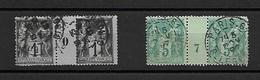 Timbre De FRANCE .  TYPE SAGE. MILLESIMES. COTE ?? - 1876-1898 Sage (Type II)