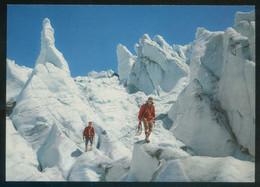 *Kletterpartie Auf Dem Gletscher* Ed. Suiza. Nueva. - Alpinisme