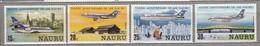 NAURU 1980 Airplanes Aviation MNH(**) Mi 207-210 #24045 - Nauru